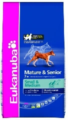 EUK MATURE & SENIOR SMALL & MEDIUM BREED