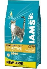 IAMS CAT LIGHT R/I CHICK