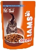 IAMS ADULT BEEF POUCH